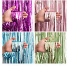 15 Colours Shimmer Foil Door Wedding Birthday Party Curtain Decoration 92x245cm