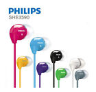 Philips SHE3590 In-Ear Headphones Earphones Black White Pink Yellow Audio Player