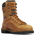 """Danner Men's Quarry USA 8"""" Dist. Brown Insulated NMT 400G 17321"""
