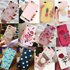 For iPhone 6/6s/7 Plus Patterned Silicone TPU Ultra Thin Phone Case Cover Lot