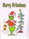 The Grinch Printed Christmas Card ~ Personalised Option Available
