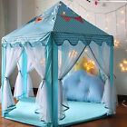 """Foldable Princess Castle Activity In Outdoor Kids Hexagon Play Tent Toy 56x54"""""""