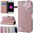 Mosaic Diamond Pattern Flip PU Leather Wallet Card Case Cover For iPhone 7 Plus