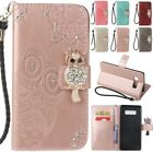 Embossing Diamond Wallet Flip Magnetic Leather Case Cover For Samsung S8 Note8