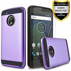 For Motorola Moto X4 Case, Hybrid Shockproof Cover+ HD Screen Protector
