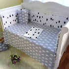 3 Piece Nursery Baby Bedding Set Kids Bedroom Cribs Quilt Cover Sheet Pillowcase