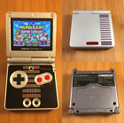 Custom Nintendo Game Boy Advance GBA SP AGS-101 - New!