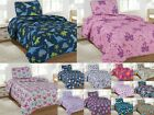 Kids Bedding Quilt Set Twin Size Bed Cover Bedspread Boys  Girls Printed Covers