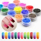 Nail Changing Thermal Glitter Powder Manicure Gradient Pigment Thermochromic