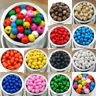 500/1000pcs Round Natural Wood Ball Spacer Loose Beads 4mm 8mm Wholesale