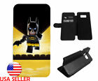 Batman Lego Movie Leather Flip Phone case for LG G6 iPhone Samsung Popular Gift