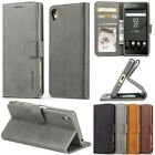 Flip PU Leather Magnetic Wallet Cards Stand Case Cover For Sony Xperia X XA XZ