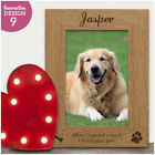 Personalised Dog Puppy Pet Bereavement Photo Frame - Dog Pet Loss Memorial