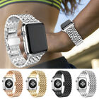 Black/Gold/Silver...L/Small Metal Bracelet Watchband Strap For Apple Watch 1 2