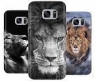 LION KING PREDATOR WILD CAT RUBBER PLASTIC PHONE COVER CASE FOR SAMSUNG GALAXY S