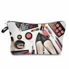 2019 Beauty Flamingo Travel Cosmetic Zip Bags Multifunction Pouch Cosmetic Case