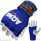 AQWA Inner Gloves Hand Wraps Boxing Gel Padded MMA Fight Protector Bandage Blue