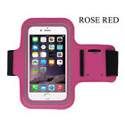 Sports Gym Running Armband Arm Holder Case for iPhone 5 6 7 Samsung Note Edge