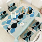 Cotton Blend Rectangle Square Tablecloth Dining Room Table Cover Runner 2 Prints