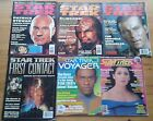 Selection of individual Star trek official magazine issues