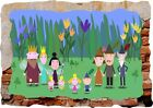 Ben And Holly Little Kingdom 3d Smashed Wall View Sticker Poster Vinyl Mural 165