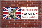 PVC Outdoor Welcome Home Banners, any pictures or designs any celebration