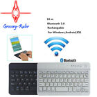B&W Wireless Bluetooth Tastatur Keyboard Handy Tablet Slim Bluetooth V3.0 New