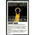 Gregory Isaacs - Best Of Volume 1 + Volume 2 SEALED cassette tape
