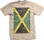 Jamaica Faded Flag Jamaican Country Pride Born From Heritage JAM Men's T-Shirt