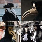 The Plague Doctor Halloween Costume Prom Cosplay Party Nose Bird mask Collection