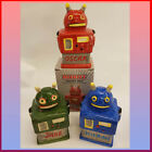 ROBOT STYLE MONEY BOX  PERSONALISED WITH ANY WITH NAME OR INITIALS free