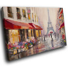 SC994 impressionist paris painting Scenic Wall Art Picture Large Canvas Print