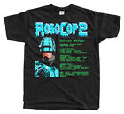 Robocop 2 REPORT screen NES game T shirt BLACK S-5XL ALL SIZES NEW!!!