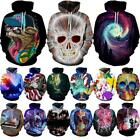 top 3d players - Graphic 3D Print Mens/Womens Fashion Hoodie Sweatshirt Pullover Tops Jacket Coat