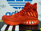 NEW ADIDAS Crazy Explosive Primeknit Men's Basketball Shoes - Red/Red; AQ7218