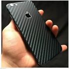 Textured Carbon Fibre Skin Wrap Sticker Decal Case Cover For All iPhone 8 8 Plus