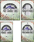 MLB Colorado Rockies - Light Switch Covers Home Decor Outlet on Ebay
