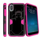 For Apple iPhone X | Apple iPhone 10 (2017) Shockproof Clip Stand Pink Case