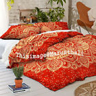 Ombre Mandala Indian Duvet Doona Cover Throw Cotton Cover Bedding Quilt Blanket#
