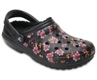 Crocs Ladies Classic Fleece Lined Graphic Clog