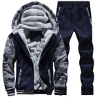 2017 autumn and winter men's thick plus cashmere sweater suit sports and leisure