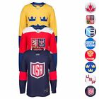 2016 NHL Adidas 'World Cup Of Hockey' Premier Team Jersey Collection Men's