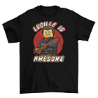 Negan Lego The Walking Dead T-Shirt Unisex Cotton TV HBO Halloween Sizes New image