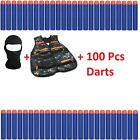 Bullet Darts Refill Set Tactical Vest For Nerf N-Strike Elite Series Blasters