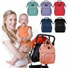 UK Mummy Bag Backpack Baby Diaper Nappy Backpack Multifunctional Mommy Changing
