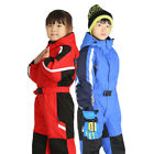 thermal one piece suit - Outdoor Child One-piece Ski Suit Boys Girls Thicken Thermal Snowboard Snowsuit