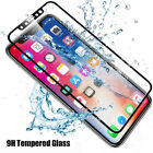 3PCS 3D FUll Cover Fiber+Temper Glass Screen Film Protector for iPhone X Ten 10