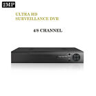 2MP 1080P 4/8/CH Support DVR CCTV H.264 Video Recorder with 1 to 4TB HardDrive