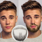Man Fake Beard Mustache Word Simulation of 100% Human Hair Makeup Disguise Props