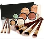 15 PC Mineral Foundation Make up Bare Natural Magic Cover Minerals COMPLETE SET